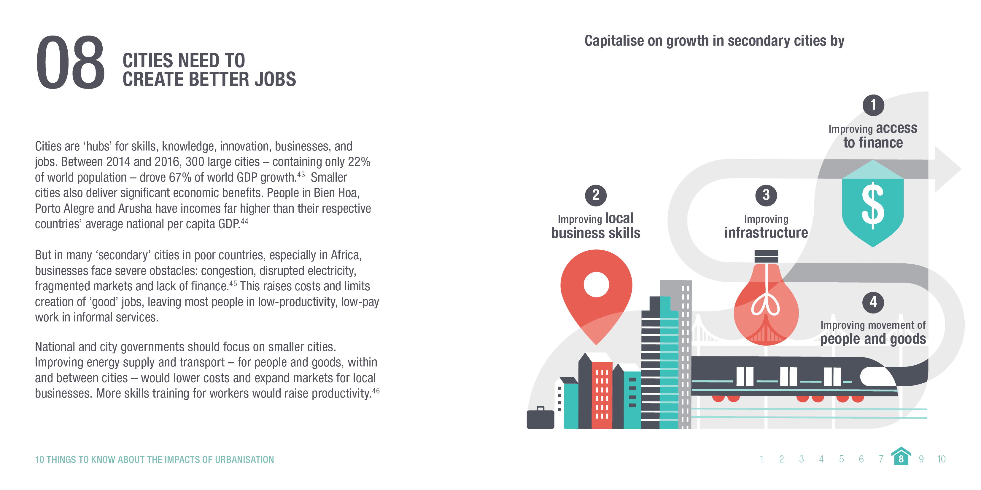 Infographic: Cities need to create better jobs. © ODI 2018.