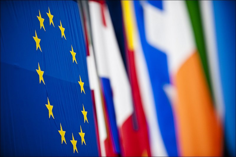 Flags at the European Parliament in Strasbourg. Photo © European Union 2013 - European Parliament