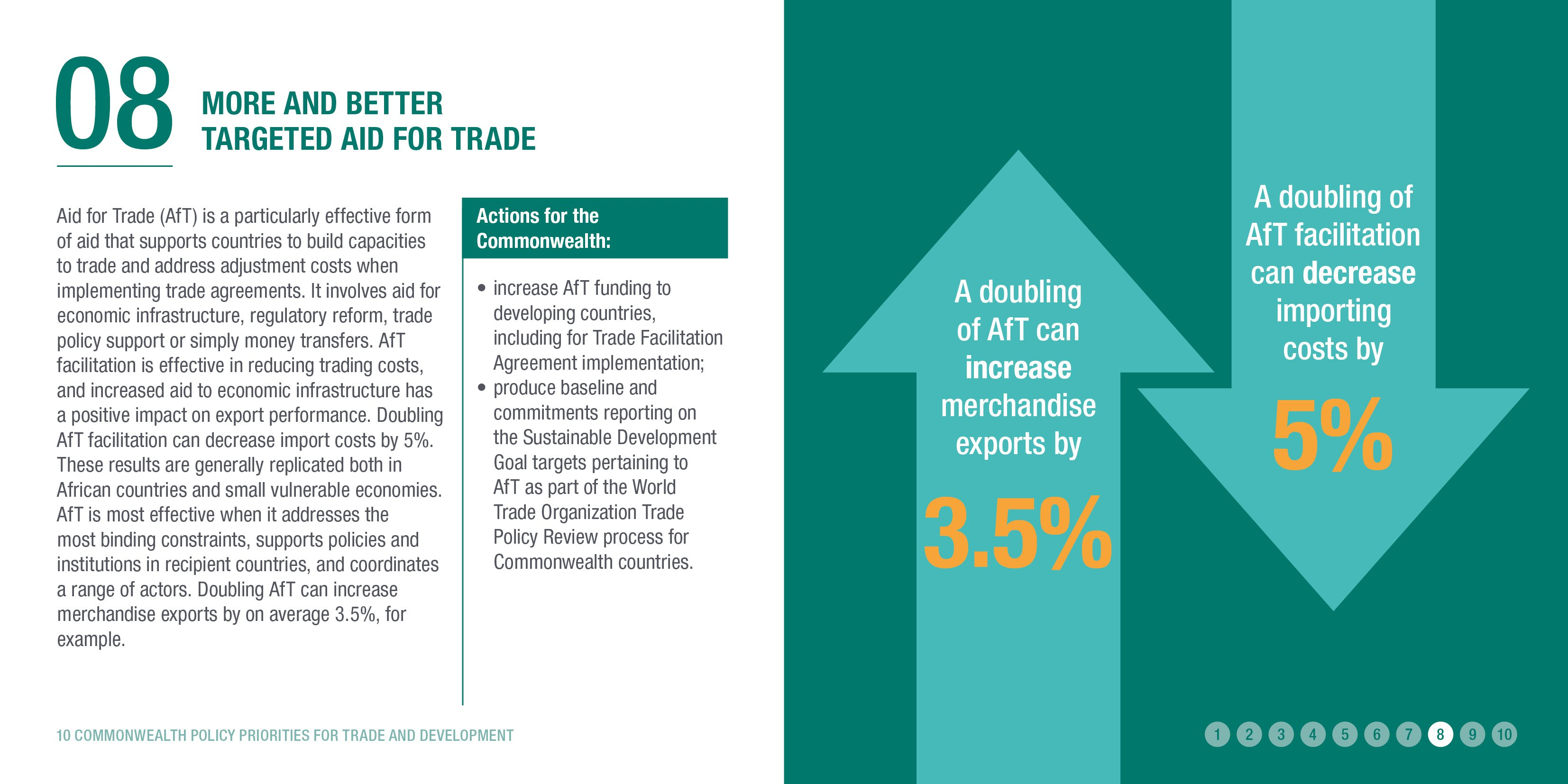 More and better targeted Aid for Trade