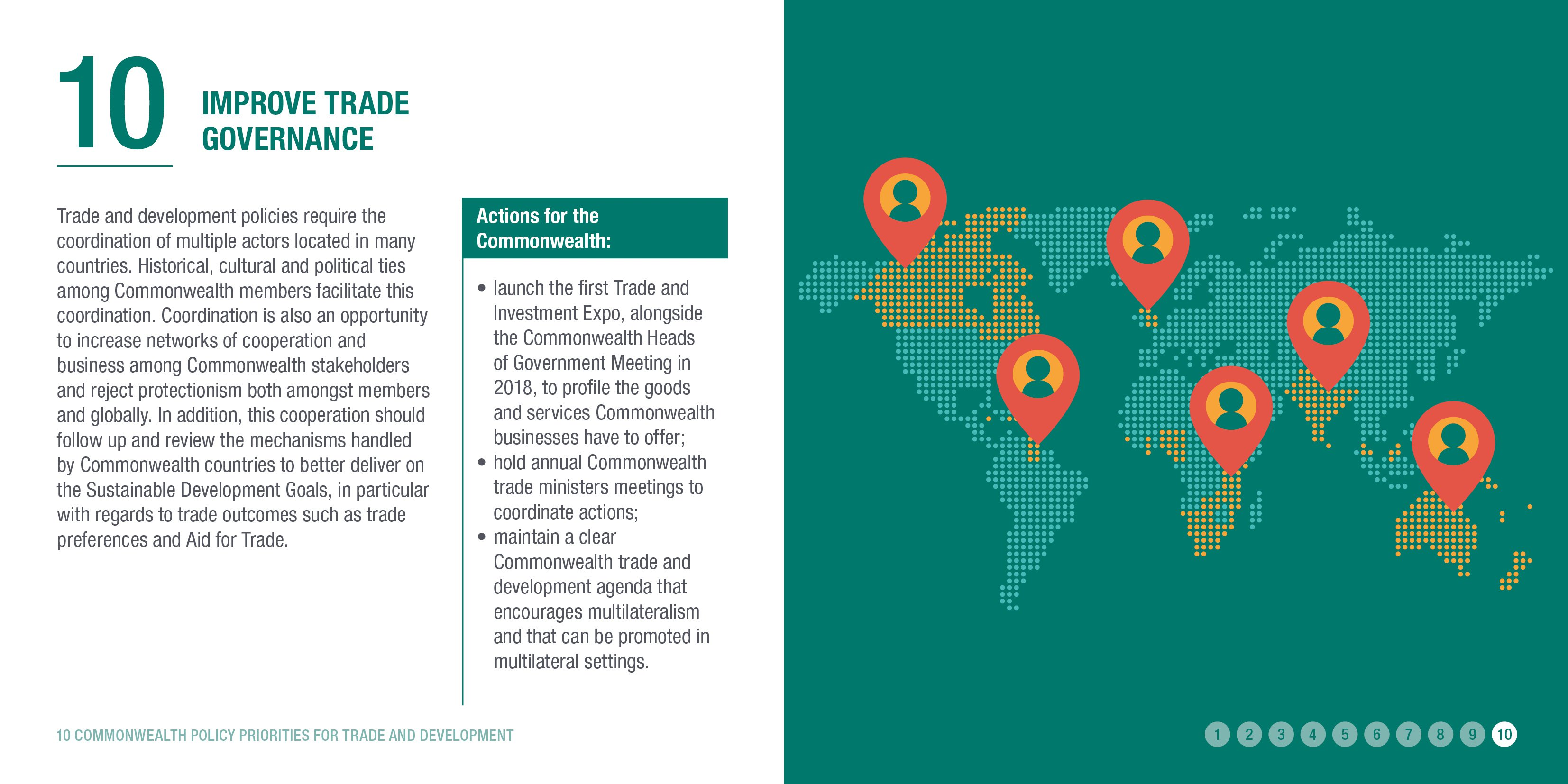 Improve trade governance