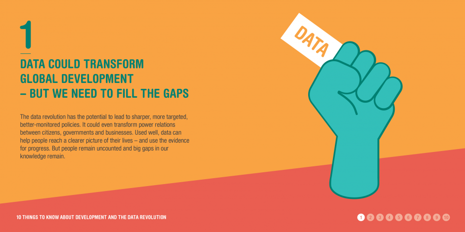 10 things to know about the data revolution: 1