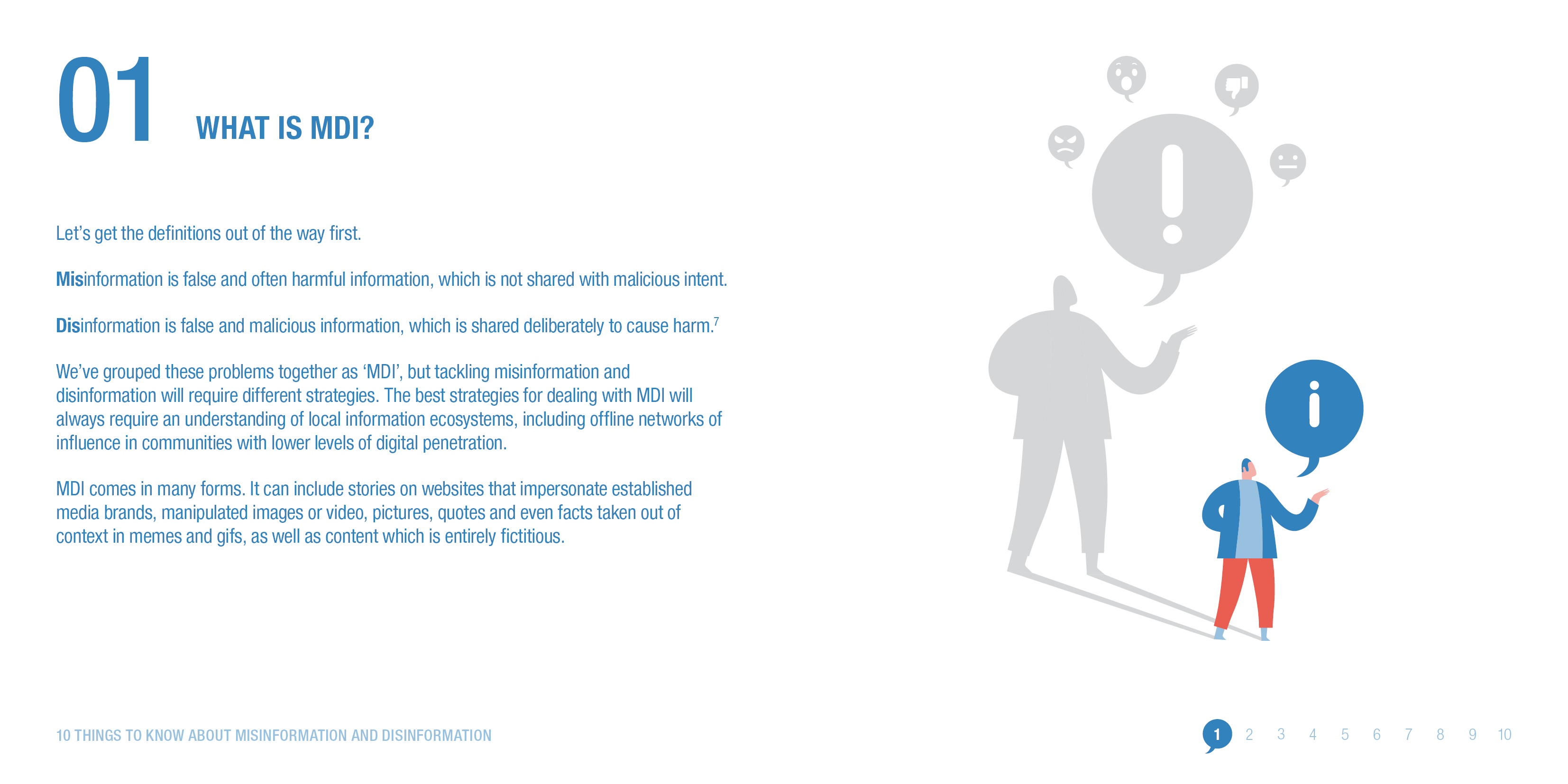 What is misinformation and disinformation? © ODI 2020