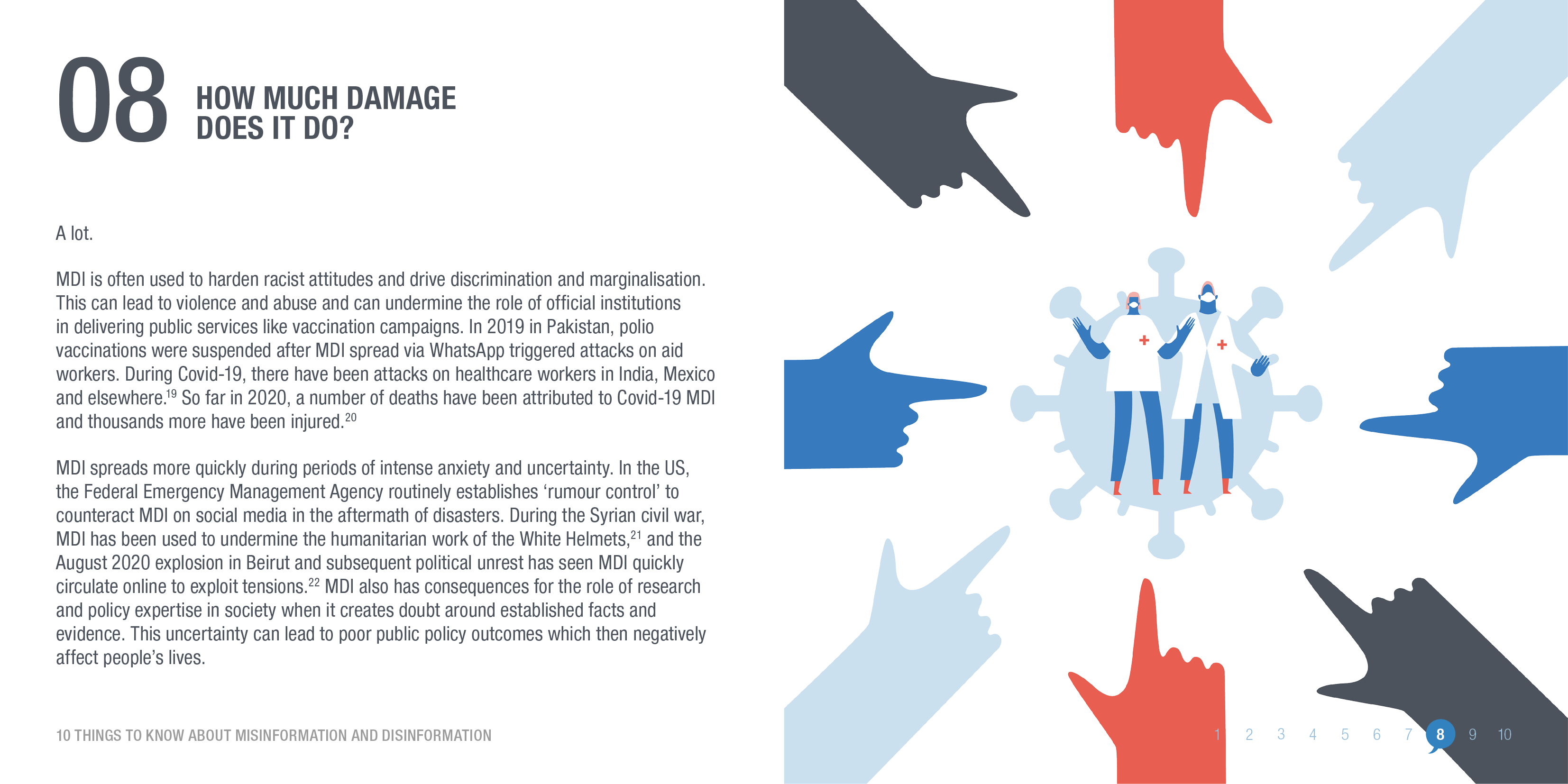 Misinformation and disinformation can cause real damage. © ODI 2020