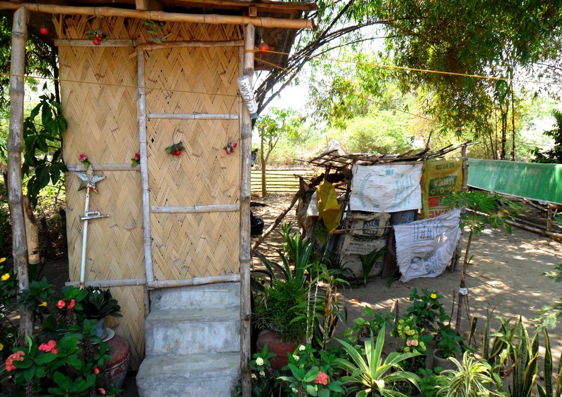 Two toilets in rural Bauang, La Union Province, Philippines. Photo: Julian Doczi/ODI