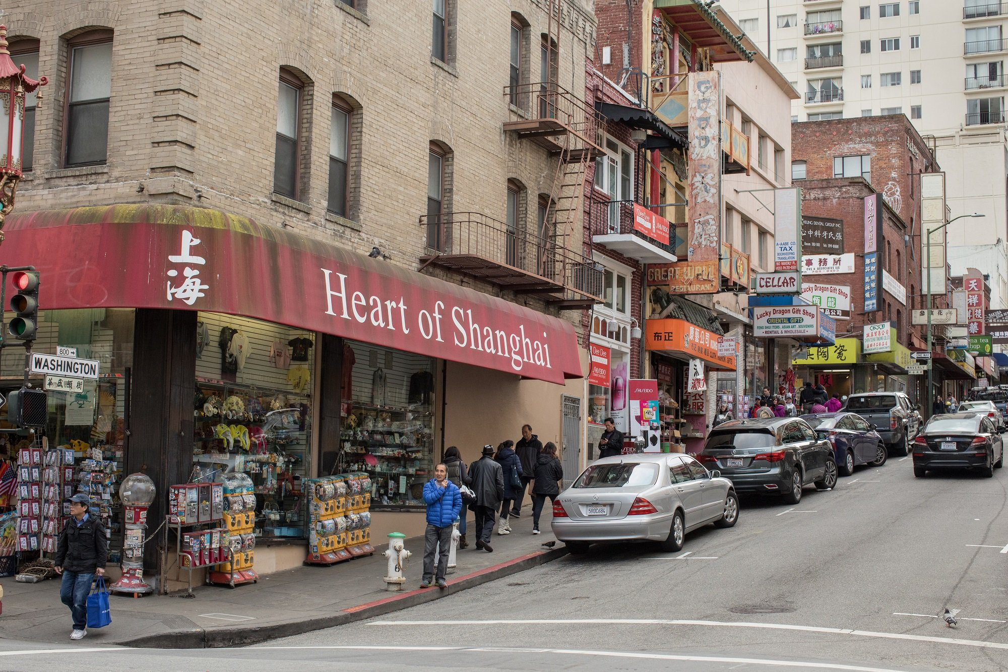 Photo: San Francisco's Chinatown, the most densely populated urban area west of Manhattan. Credit: Jessie Parks/ODI, 2018