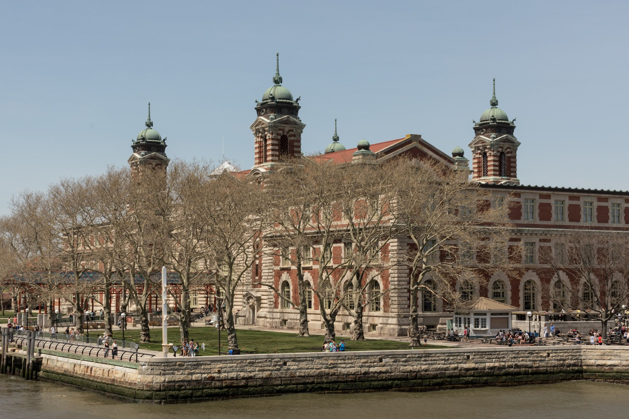 Photo: Ellis Island. Credit: Jessie Parks/ODI, 2018