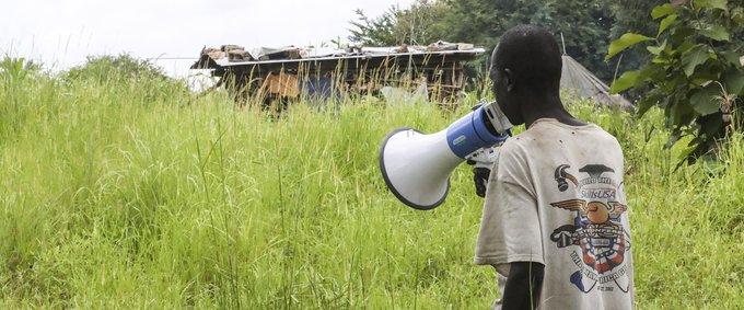 UNMAS destroyed UXO in Kuruki 40 km South of Juba