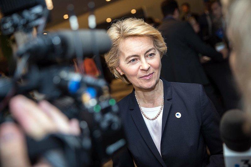 Ursula von der Leyen, 2019. Photo: European People's Party CC BY 2.0