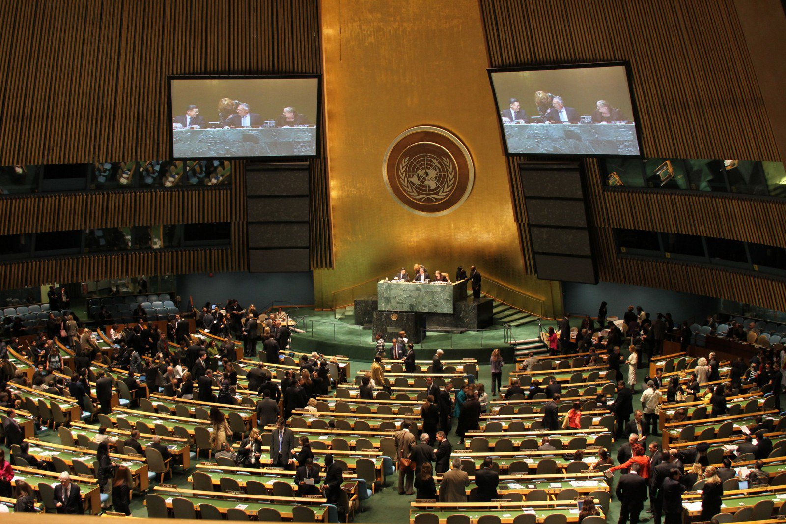 UN General Assembly. Photo: Linh Do / Flickr