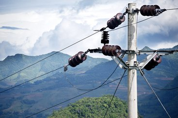 A utility pole supporting electrical wires in Bac Ha, Viet Nam. Photo: UN Photo/Kibae Park (CC BY-NC-ND 2.0)