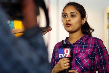 Broadcast media - news anchor - Hyderabad India 2018 shutterstock_1271212426.jpg