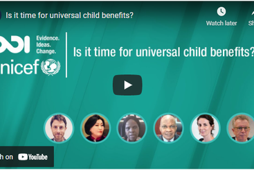 Is it time for universal child benefits?