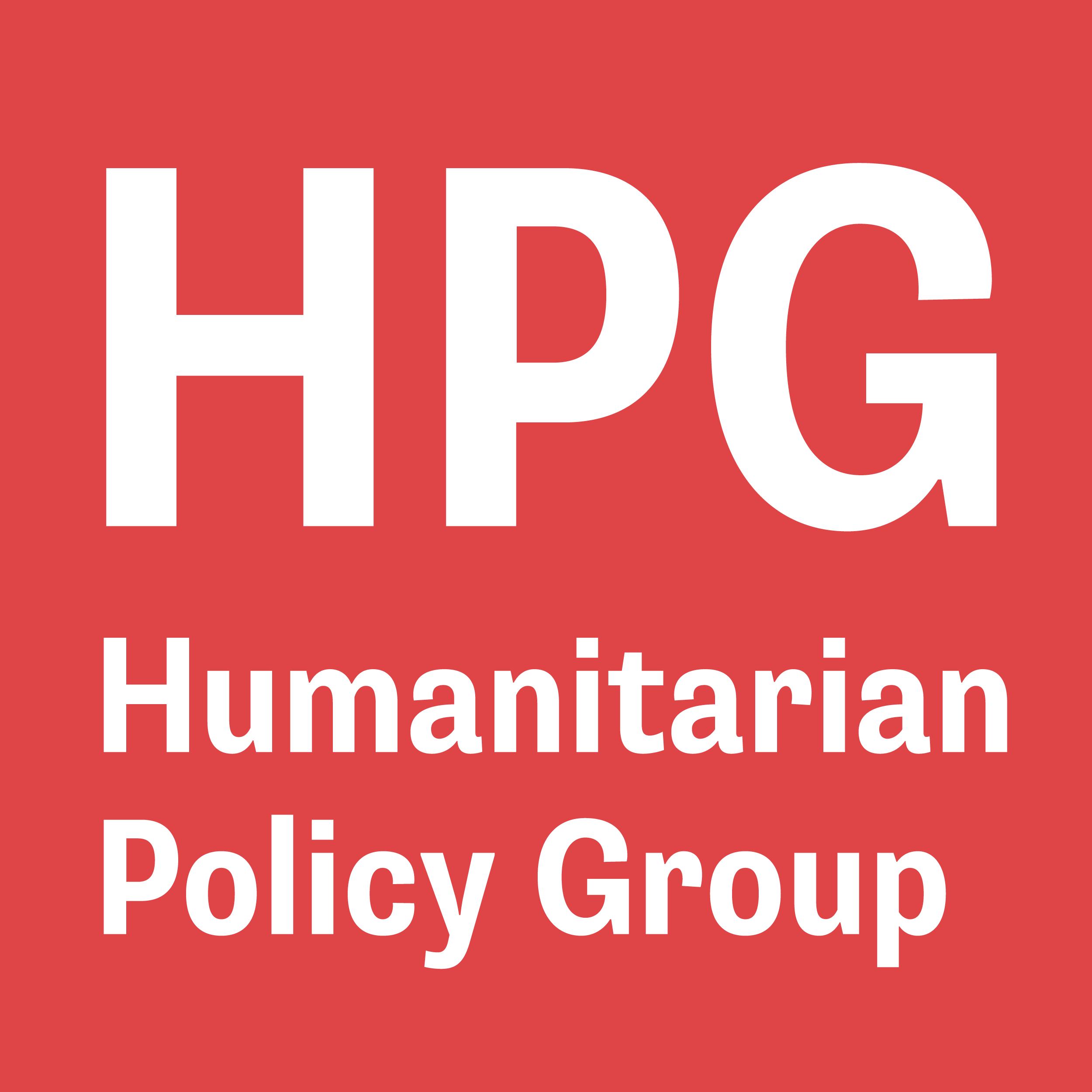 Humanitarian Policy Group Logo 2019.