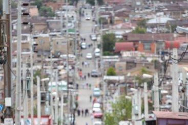 Lockdown in Alexandra Township, Johannesburg, South Africa.