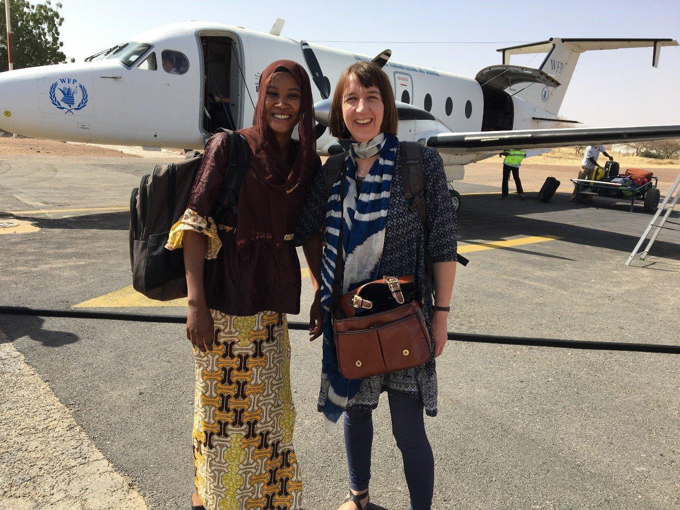 Zahra Djingerey and Aoife McCullough, Niger