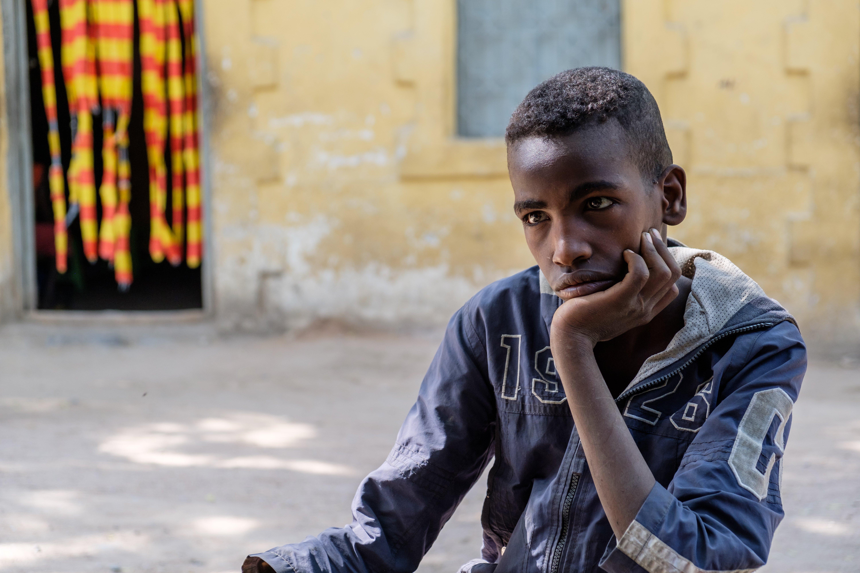 Adolescent boy in Dire Dawa, Ethiopia