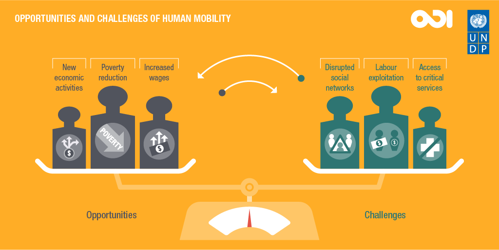 Opportunities and challenges of human mobility