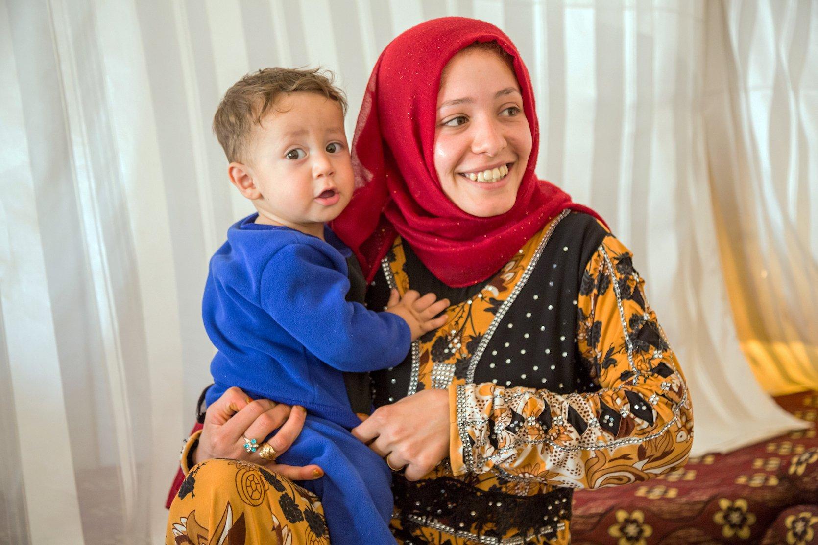 Adolescent girl in Jordan