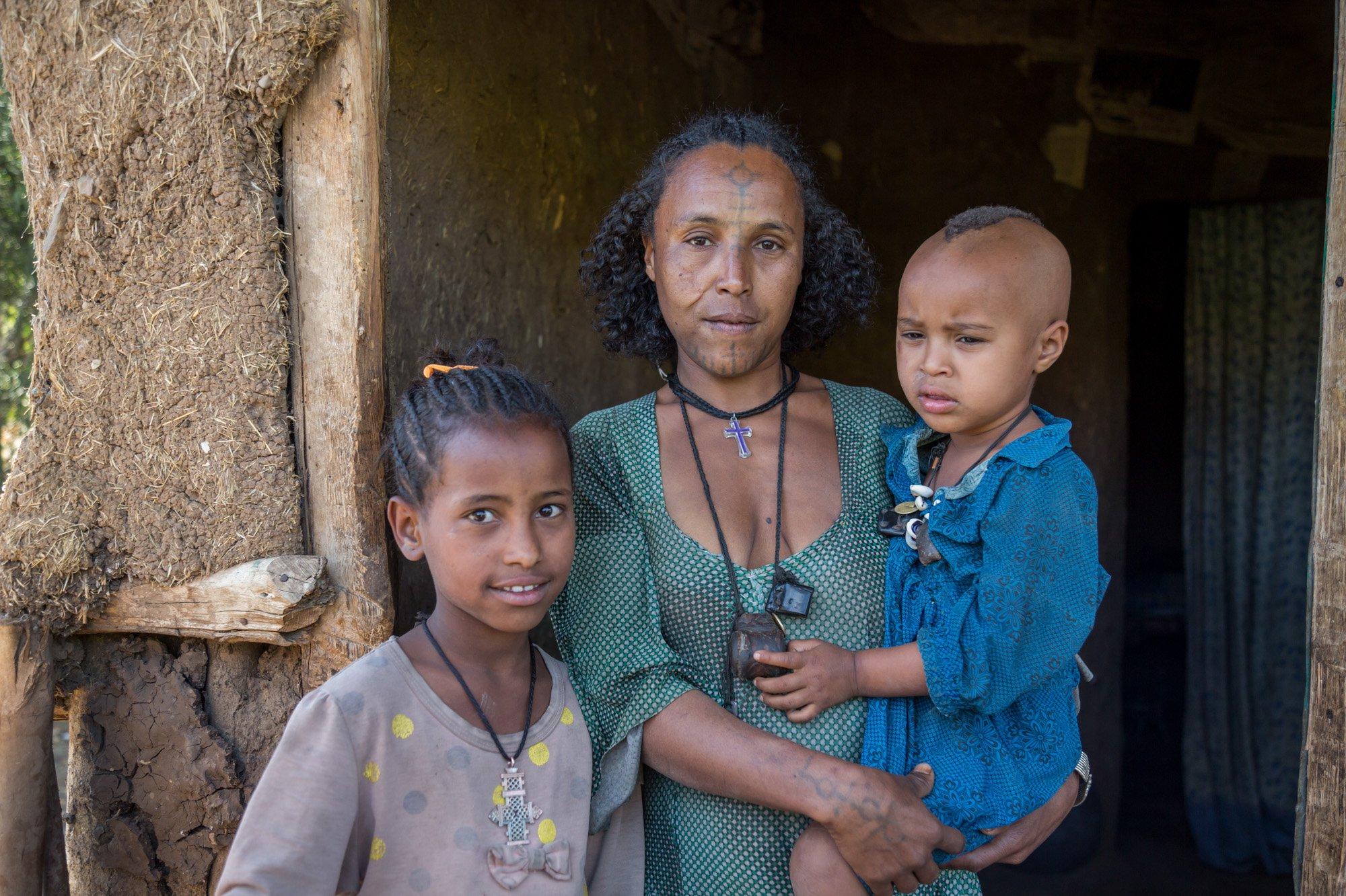 Woman from Amhara, Ethiopia