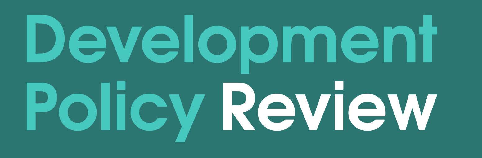 Development Policy Review