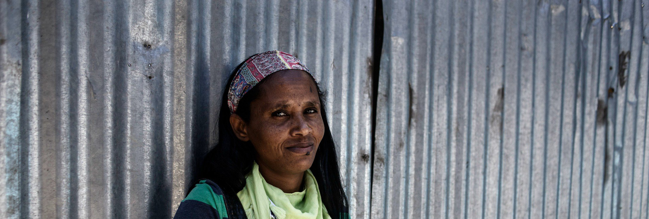 Tirhas, 35, has been in Ethiopia for six years but is not permitted to work