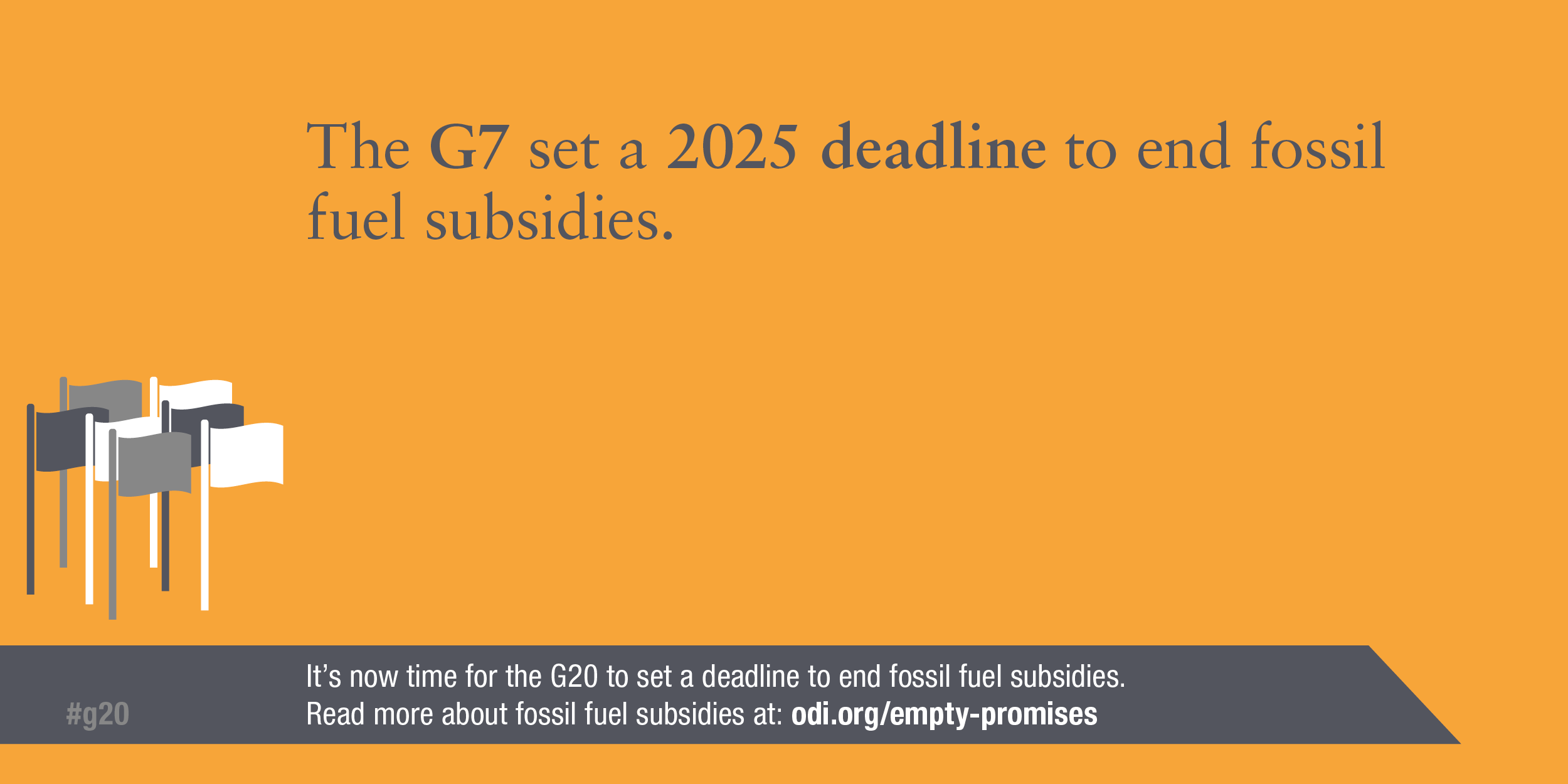 Infographic: The G20 set a 2025 deadline to end all fossil fuel subsidies