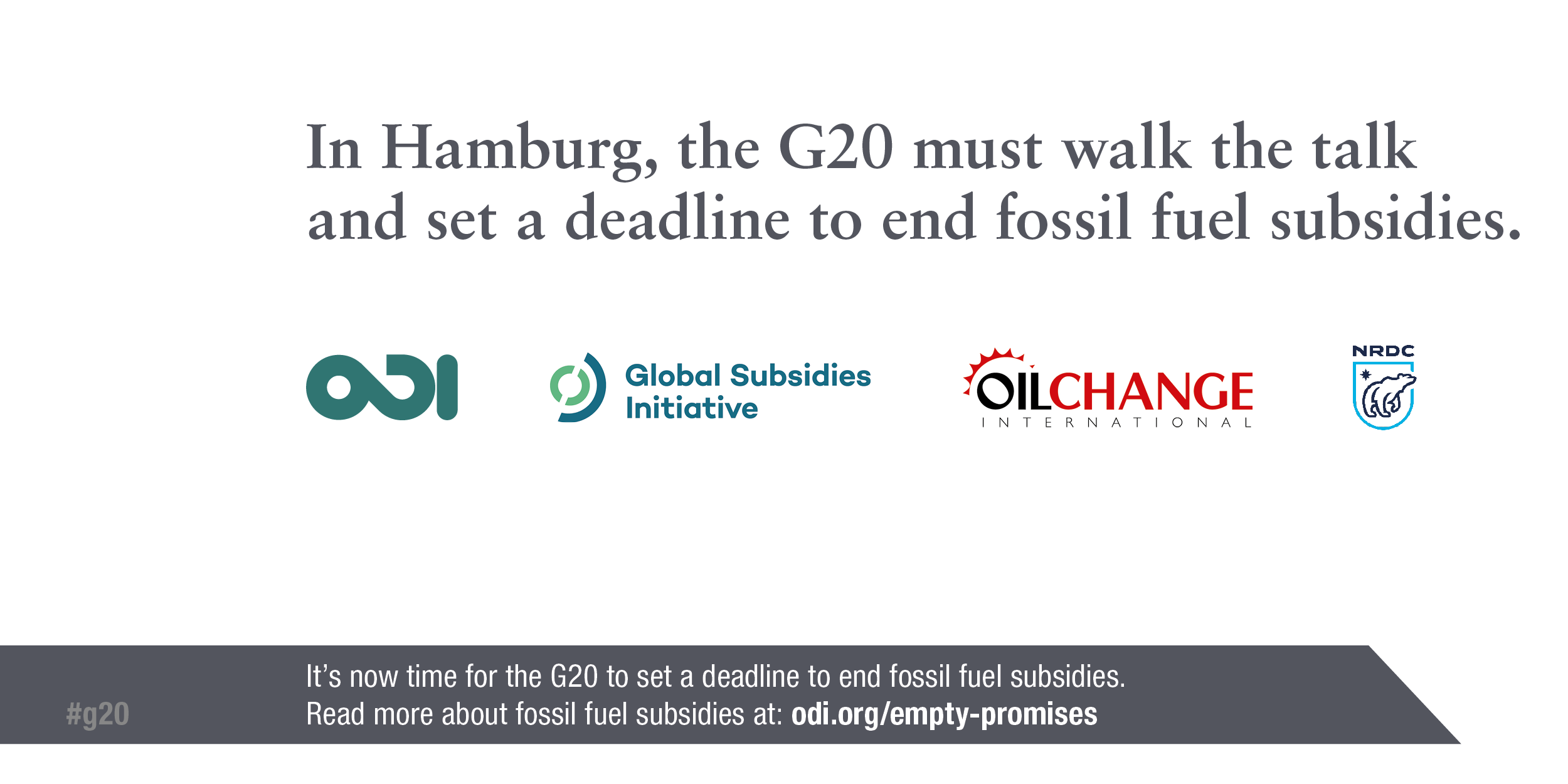 Infographic: In Hamburg the G20 must set a deadline to end all fossil fuel subsidies