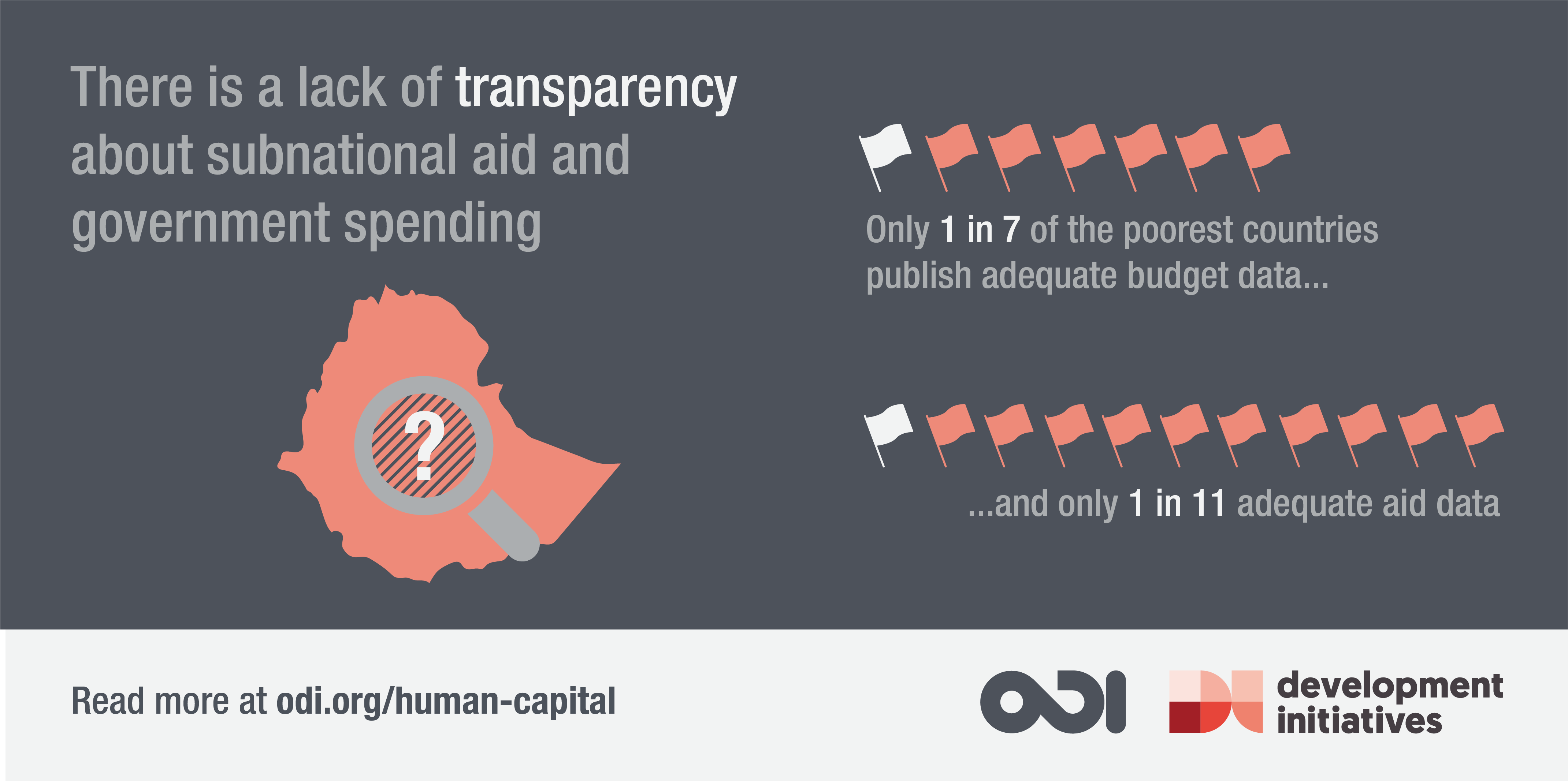 There is a lack of transparency about subnational aid and government spending