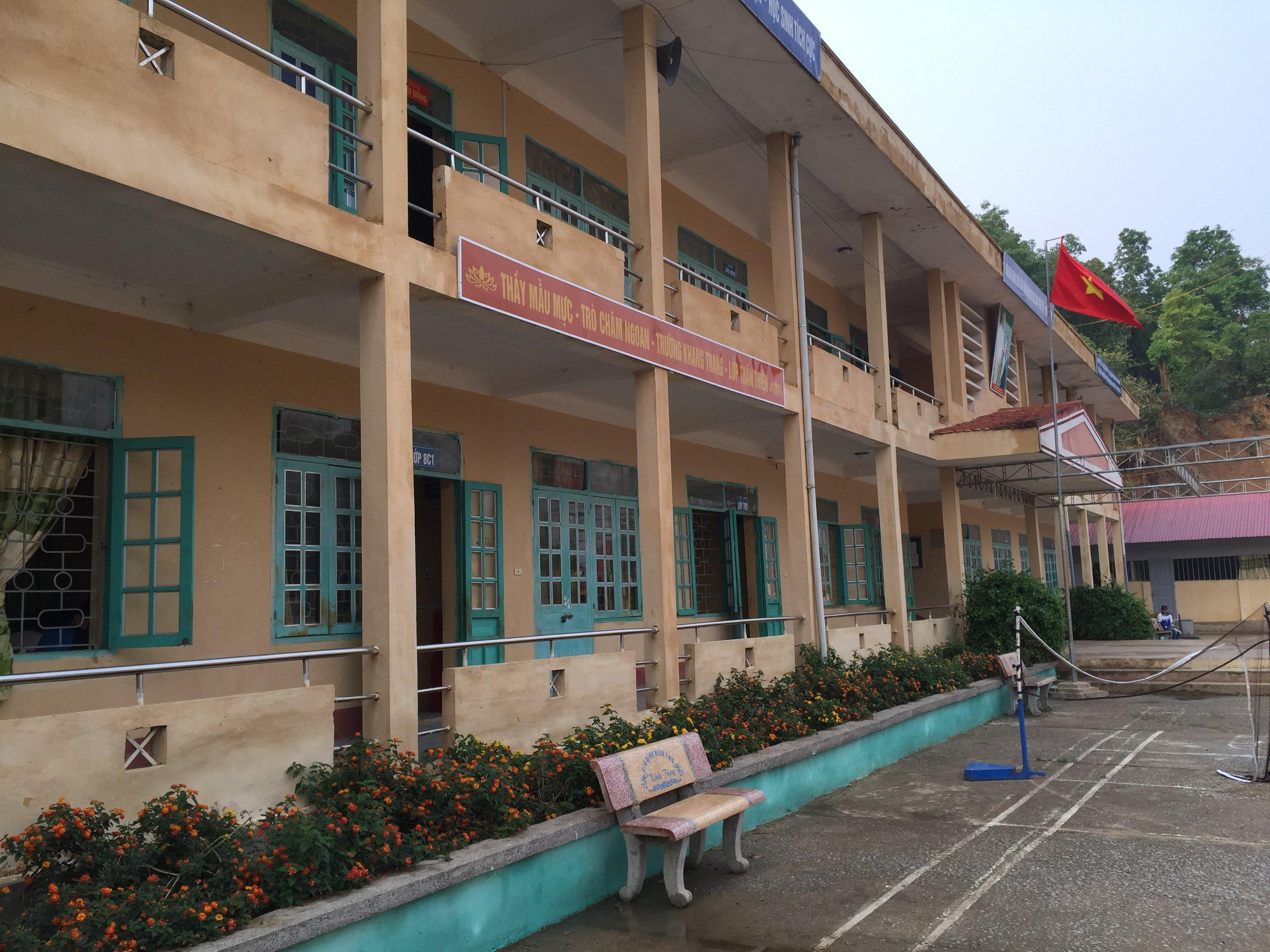 Secondary school in Viet Nam (2016)