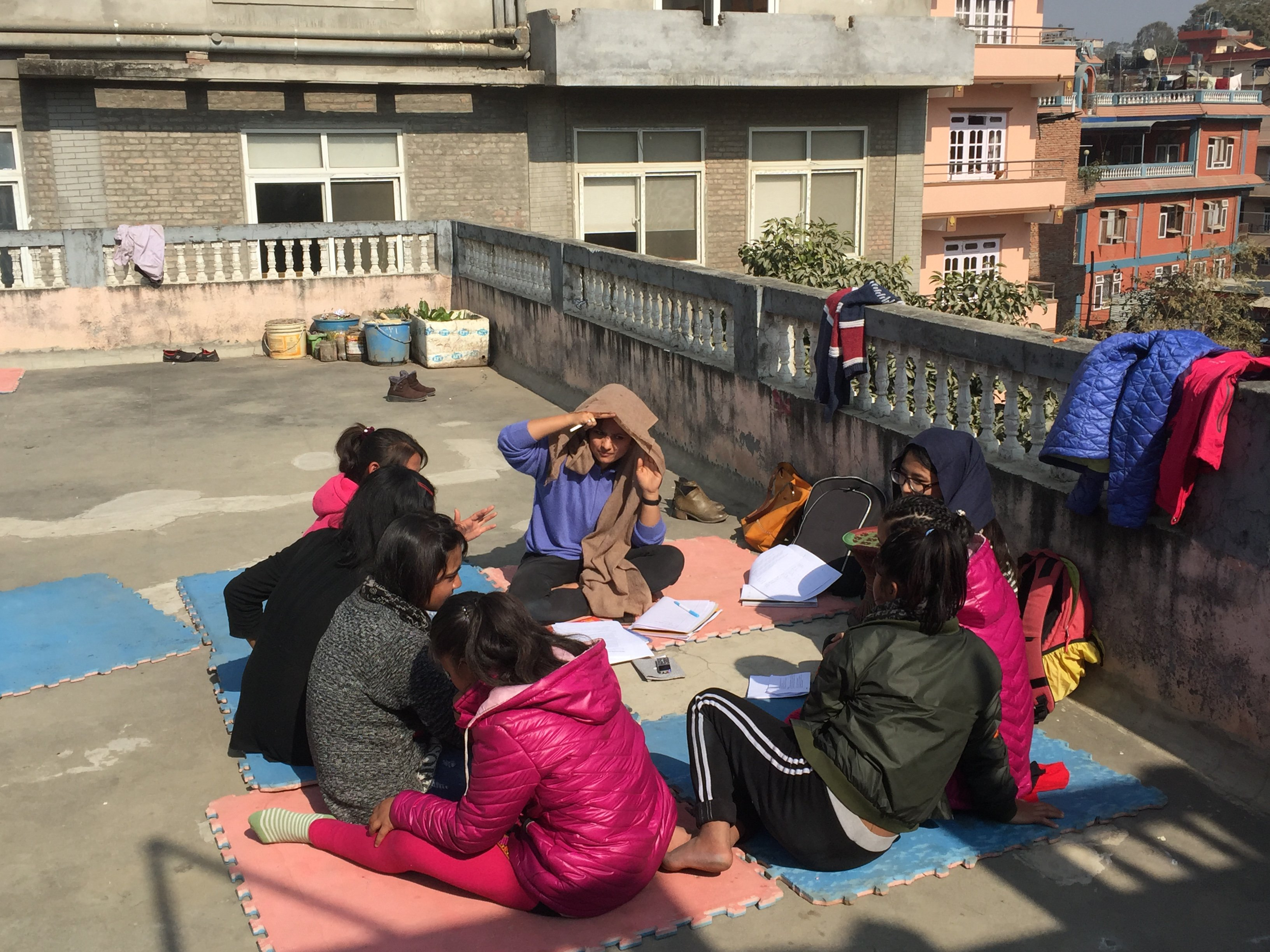 Focus group discussion with adolescents working in the adult entetrainment sector in Nepal