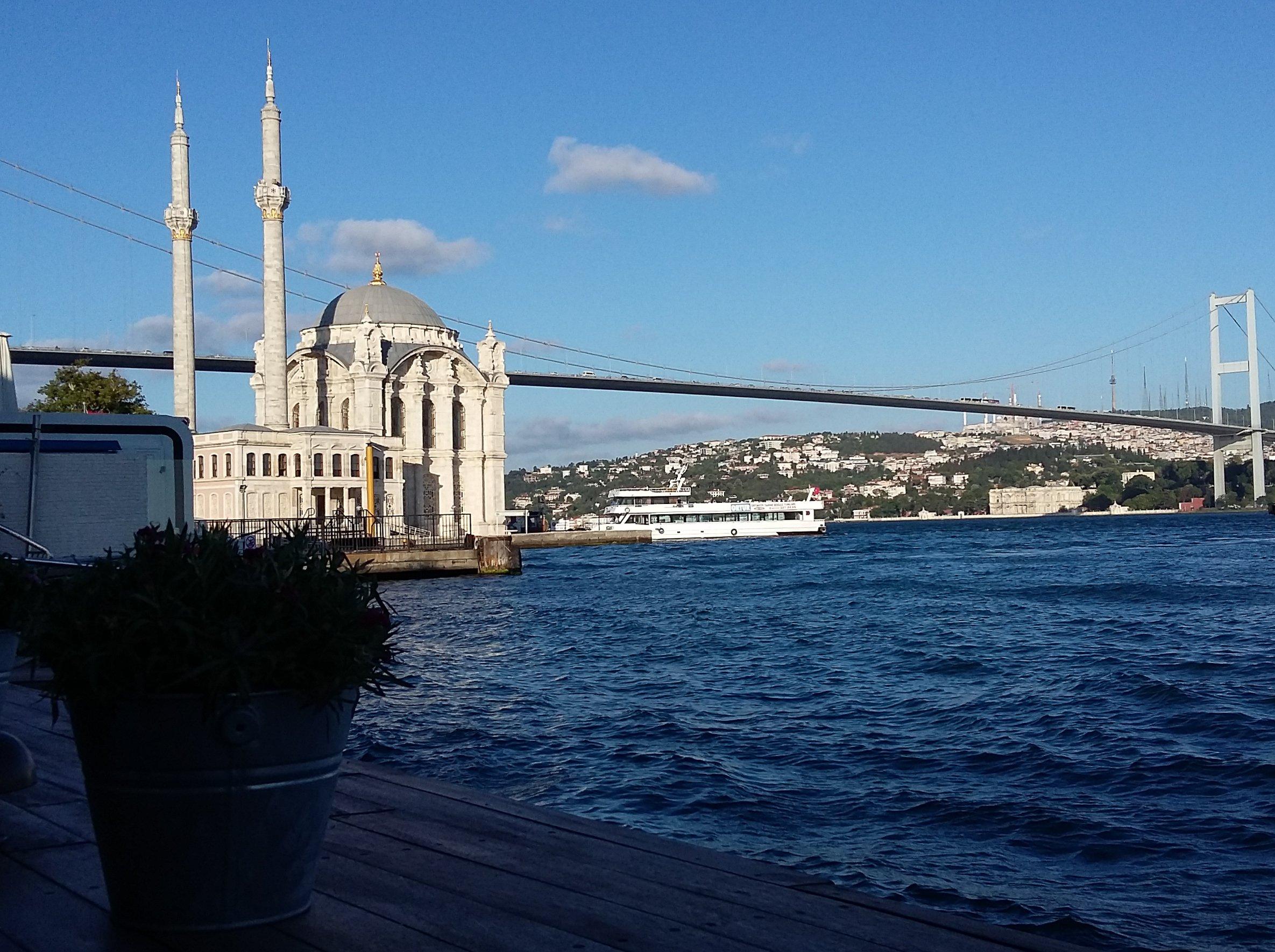 Bosphorus Bridge, Istanbul, Turkey, 2016 Veronique Barbelet/ODI