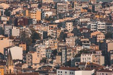 Neighbourhood in Istanbul