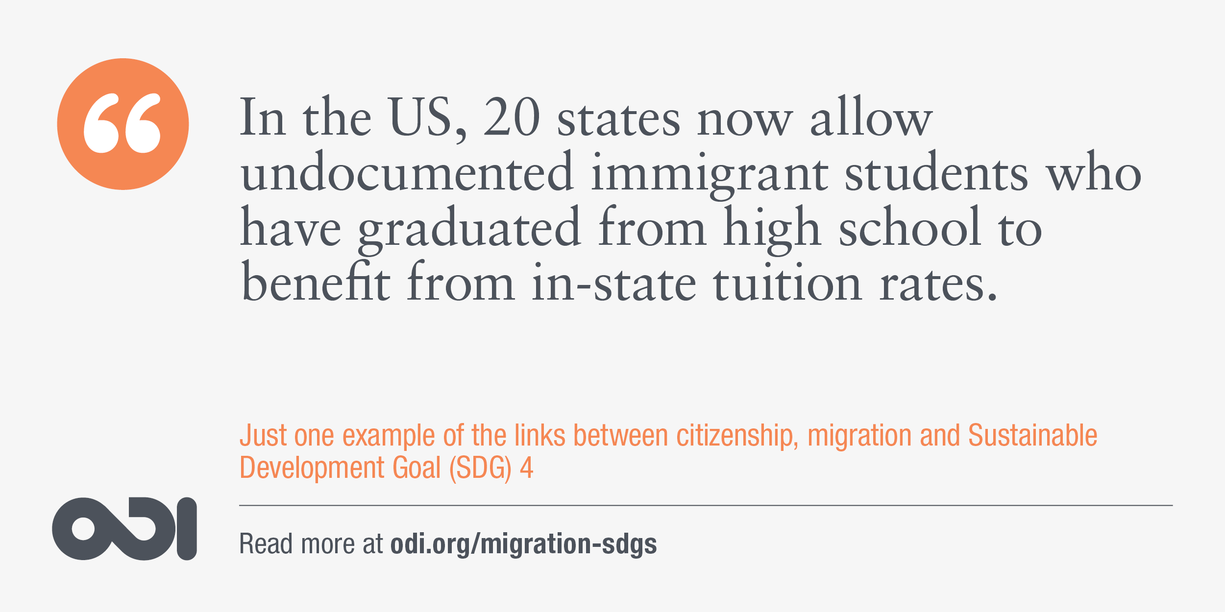 The links between citizenship, migration and SDG 4.