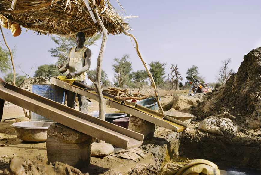 Gold mine in Tamiougou just south of Kongoussi. Photo: Ollivier Girard/CIFOR (CC BY-NC-ND 2.0)
