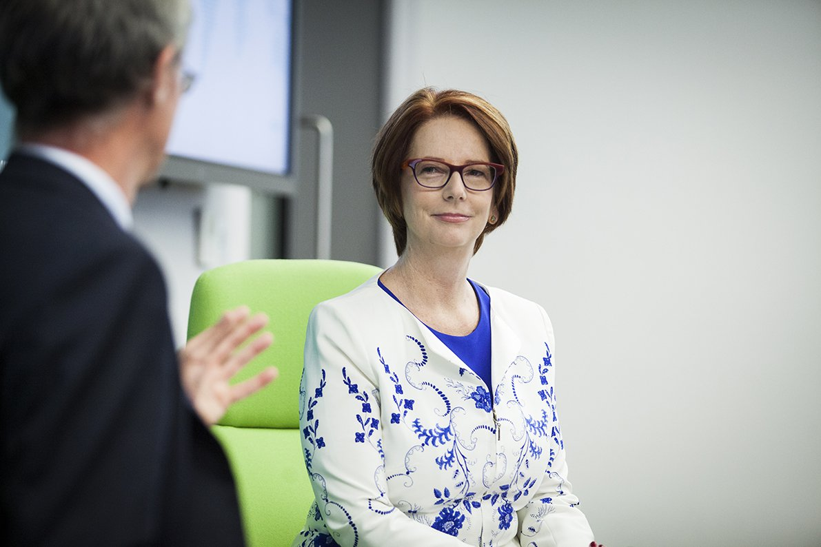 ODI in conversation with Julia Gillard