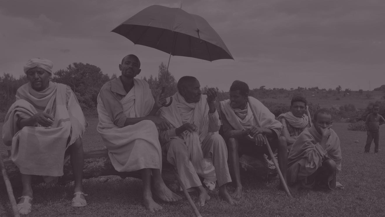 Water Committee members in Demes, Ethiopia