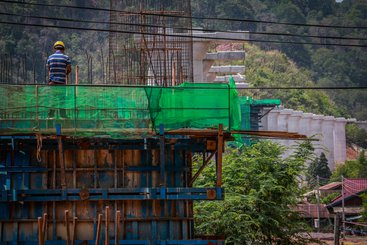 Construction on the China–Laos railway project