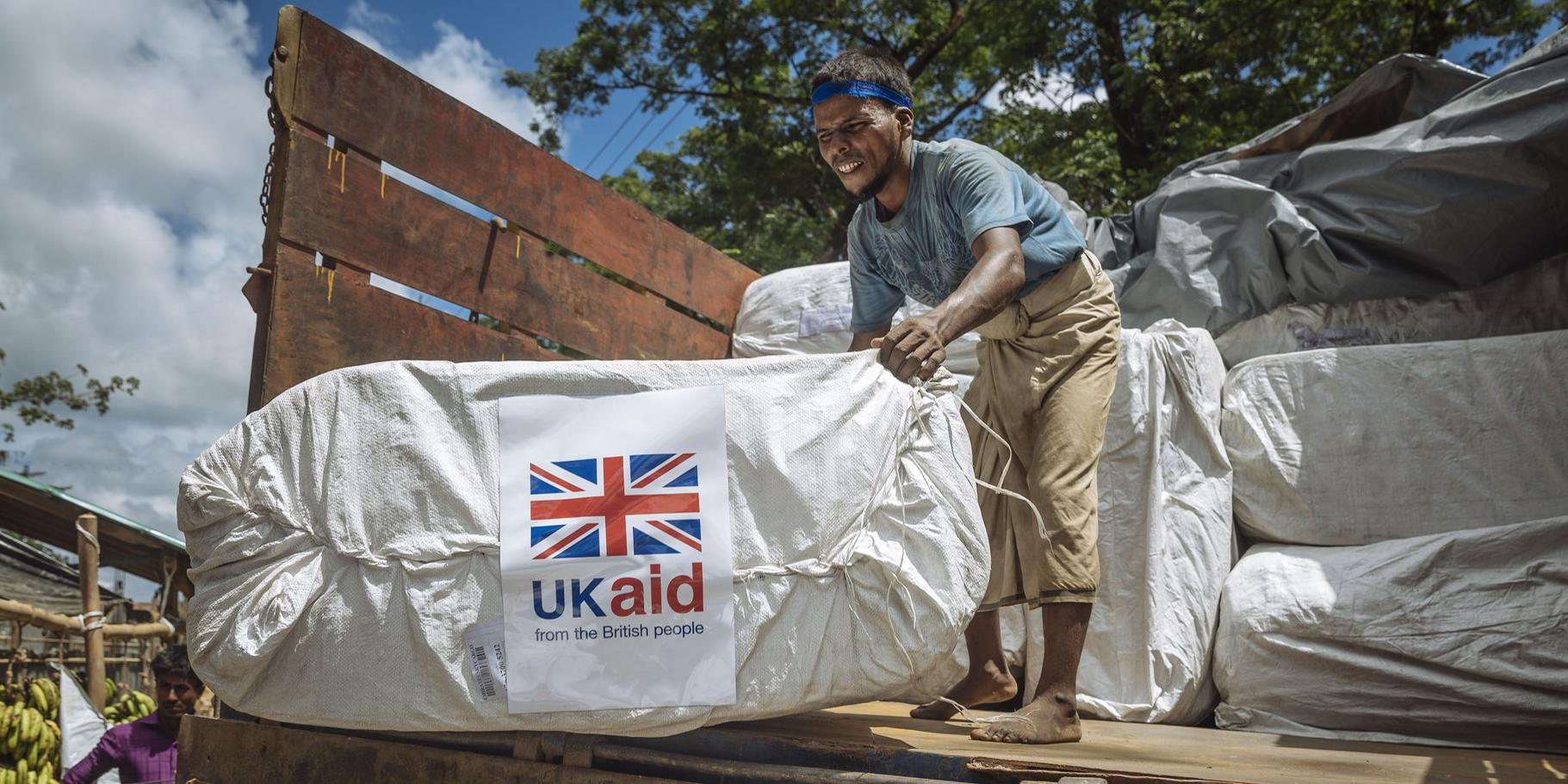 UK aid. Photo: DFID (CC BY 2.0)
