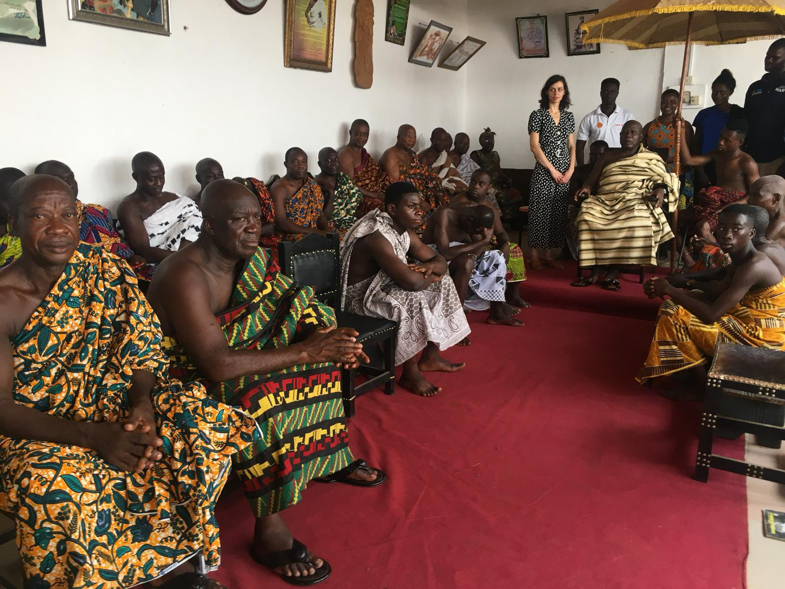 Sharing research findings with communities in Ghana