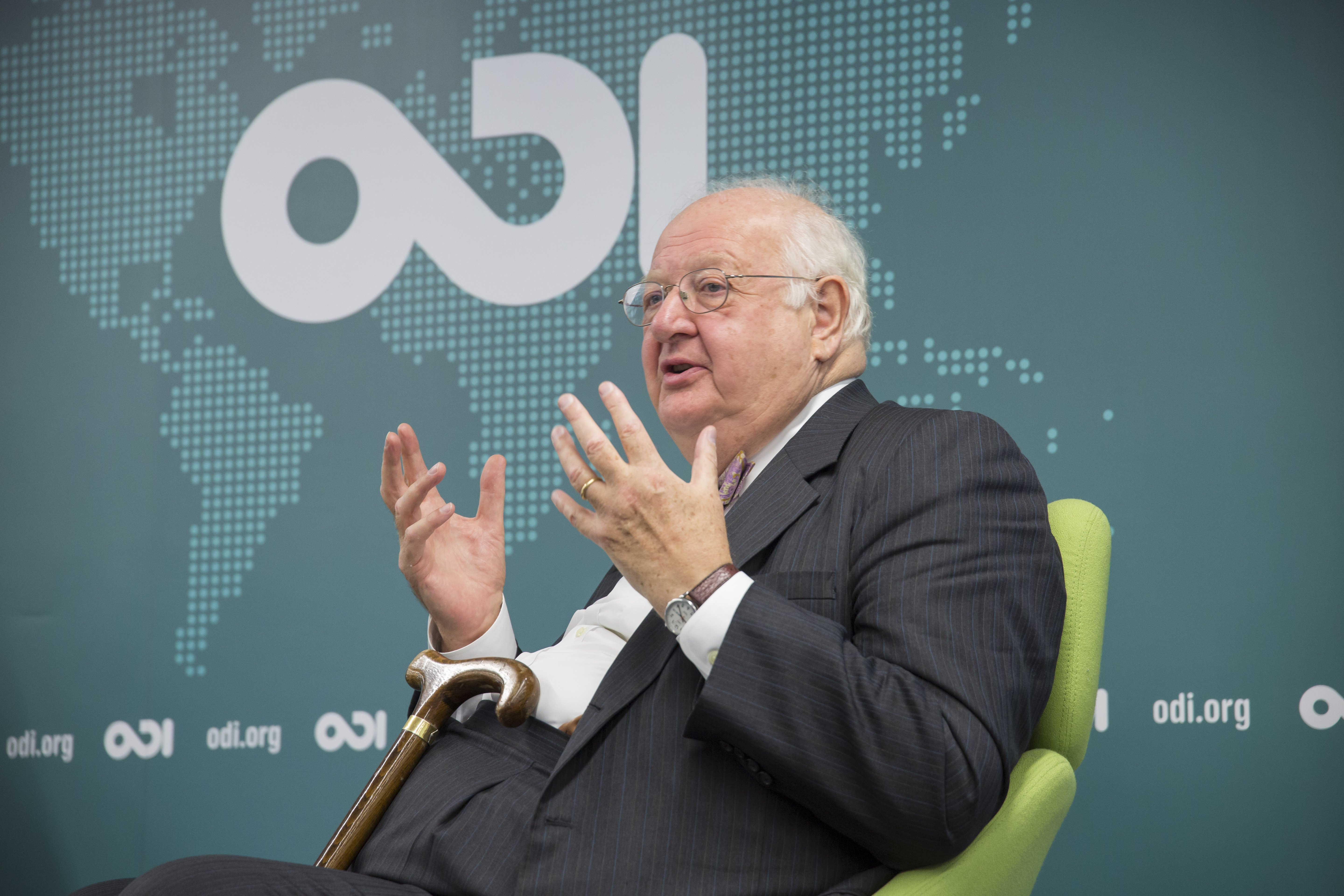 Winner of the 2015 Nobel prize in economics, Sir Angus Deaton, in conversation at ODI