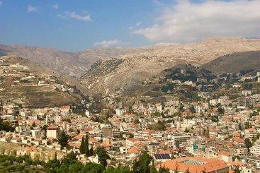 The Beqaa Valley, Lebanon.